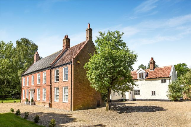 Thumbnail Detached house for sale in Ipswich Road, Tasburgh, Norwich