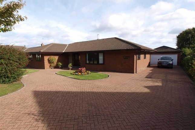 Thumbnail Detached bungalow for sale in The Paddock, Cramlington