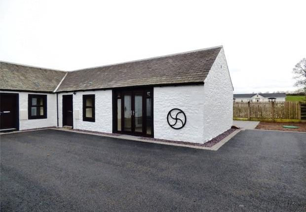 Thumbnail Semi-detached bungalow for sale in 3 Dinwoodie Courtyard, Johnstonebridge, Lockerbie, Dumfries And Galloway