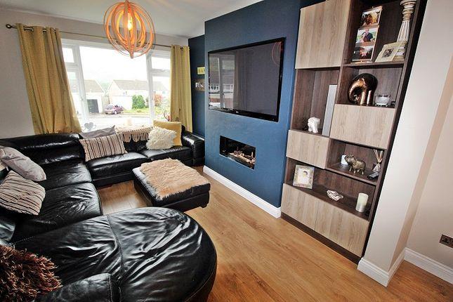 Living Room of South Drive, Llantrisant, Pontyclun, Rhondda, Cynon, Taff. CF72