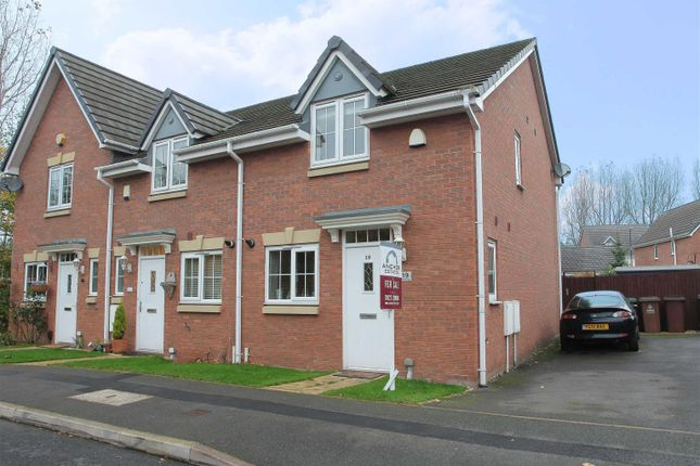 Thumbnail End terrace house for sale in Bramcote Way, Rushall, Walsall