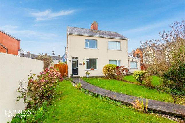 Thumbnail Semi-detached house for sale in Croft Street, Bangor, County Down