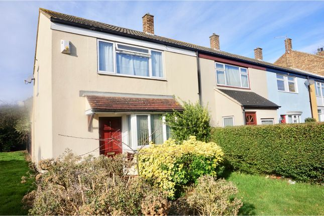Thumbnail Terraced house for sale in Hornbeams, Harlow