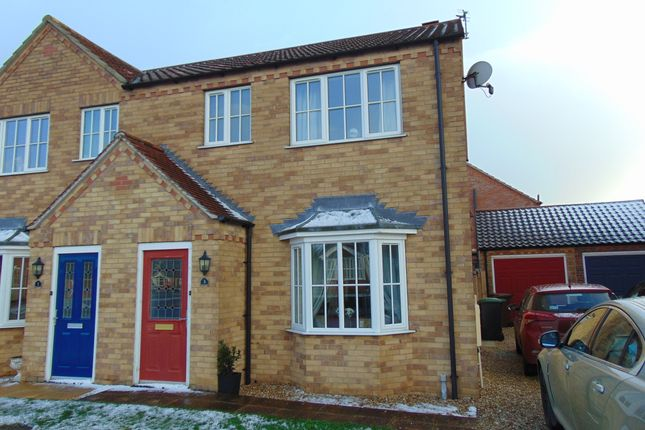 3 bed semi-detached house to rent in Short Furrow, Navenby