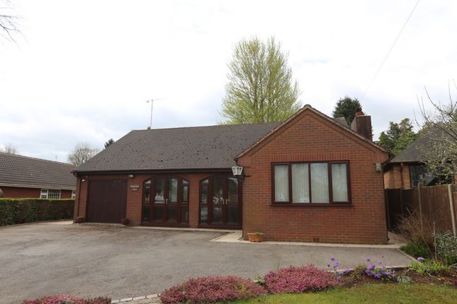 Thumbnail Bungalow for sale in Uttoxeter Road, Blythe Bridge