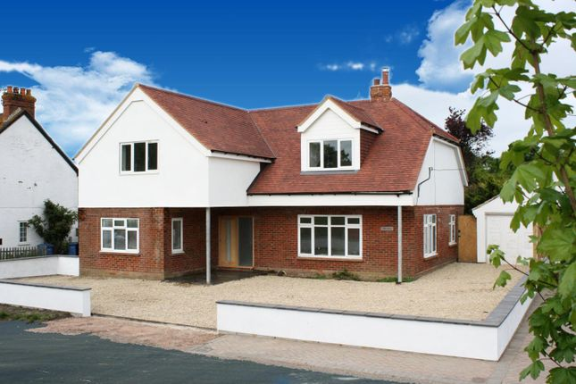 Thumbnail Detached house for sale in Crondall Road, Crookham Village, Fleet
