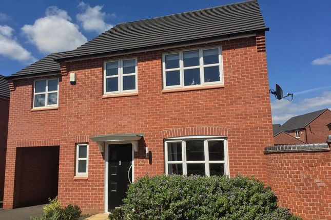 Thumbnail Detached house for sale in Otter Close, Ibstock