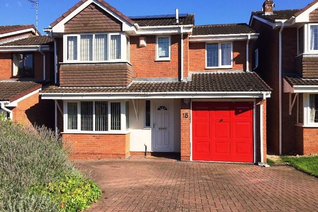 Thumbnail Detached house to rent in Webb Drive, Rugby