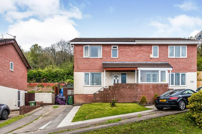 Thumbnail Semi-detached house for sale in Coed Y Pia, Llanbradach, Caerphilly