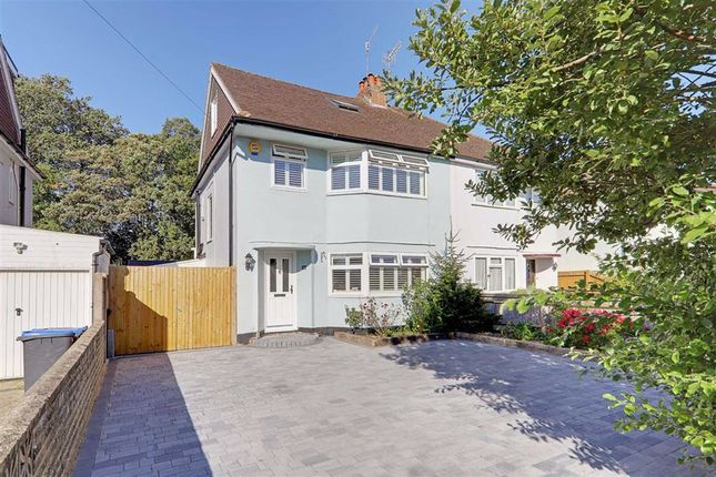 Semi-detached house for sale in Beeches Avenue, Charmandean, Worthing, West Sussex