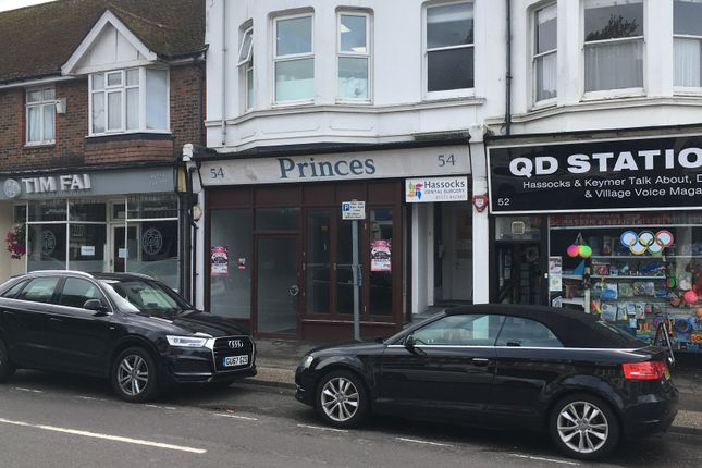 Retail premises to let in Keymer Road, Hassocks