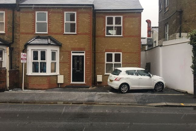 Thumbnail End terrace house for sale in St. John's Road, Isleworth