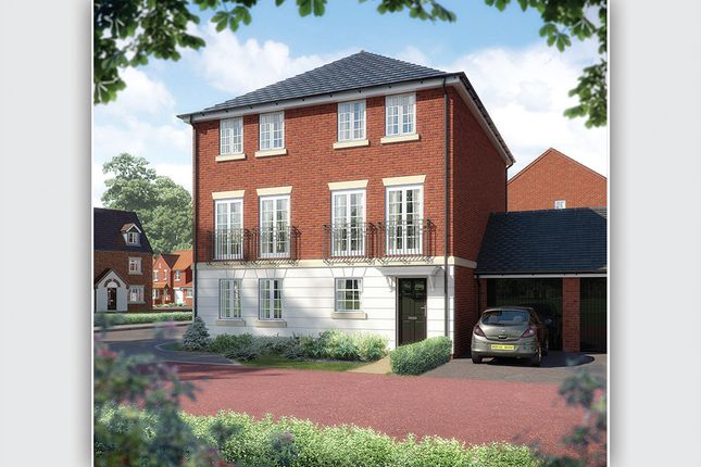 """Thumbnail Town house for sale in """"The Deverell"""" at Coupland Road, Selby"""
