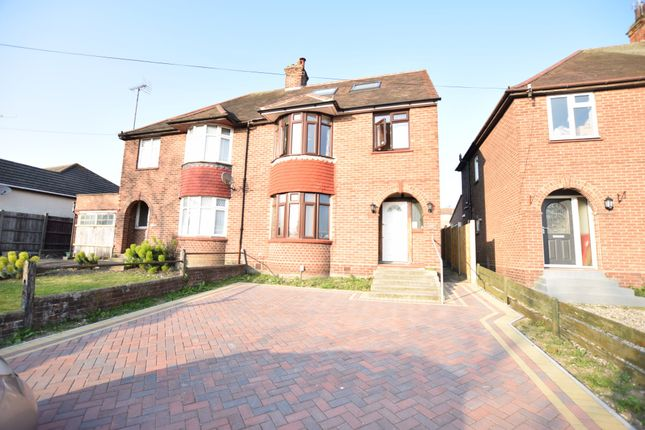 Thumbnail Semi-detached house to rent in St. Andrews Avenue, Colchester