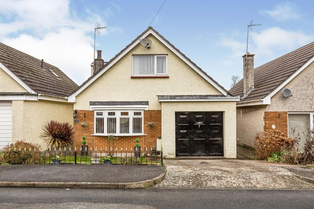 Thumbnail Detached bungalow for sale in Roberts Close, St. Athan, Barry