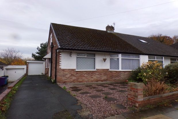 Thumbnail Bungalow to rent in Haileybury Road, Woolton, Liverpool