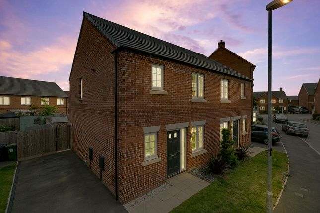 3 bed semi-detached house for sale in Limner Street, Market Harborough LE16
