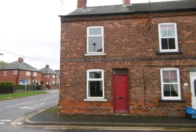 Thumbnail End terrace house to rent in High Street, Burringham, Scunthorpe