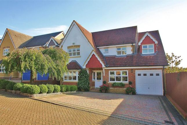 Thumbnail Detached house to rent in Strathcona Gardens, Knaphill, Woking