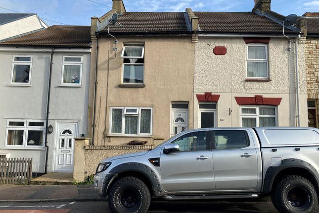 Thumbnail Terraced house to rent in Shakespeare Road, Gillingham