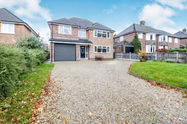 Thumbnail Detached house for sale in Highfields Close, Ashby-De-La-Zouch, Leicestershire