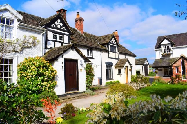 Thumbnail Terraced house for sale in Church Cottages, Holmes Chapel Road, Chelford, Macclesfield