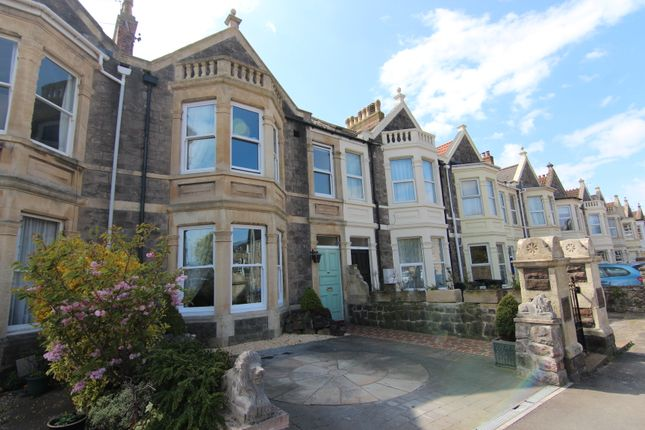 Thumbnail Terraced house for sale in Quantock Road, Weston-Super-Mare