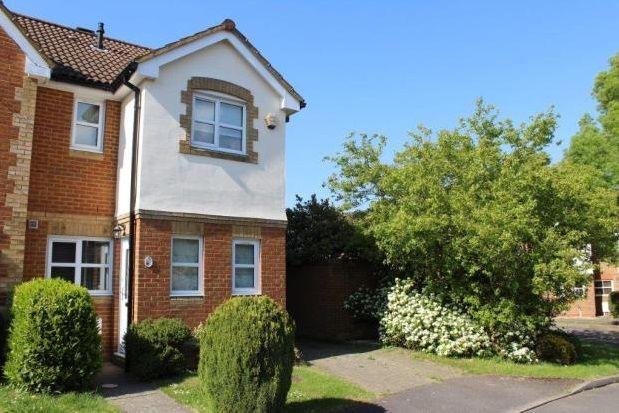 Thumbnail End terrace house to rent in Hop Garden, Church Crookham, Fleet