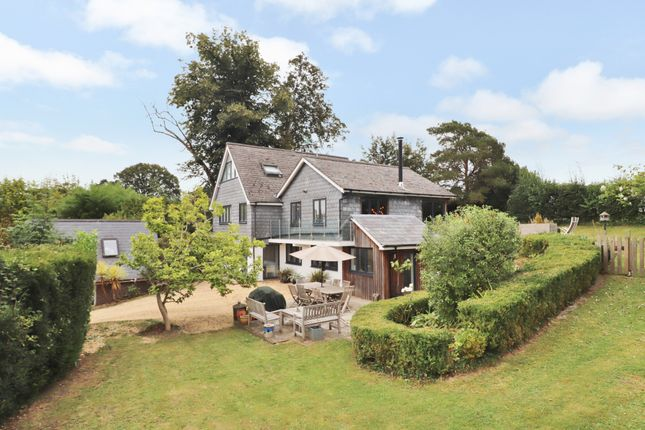 Thumbnail Detached house for sale in The Haven, Heath House Lane, Hedge End, Southampton