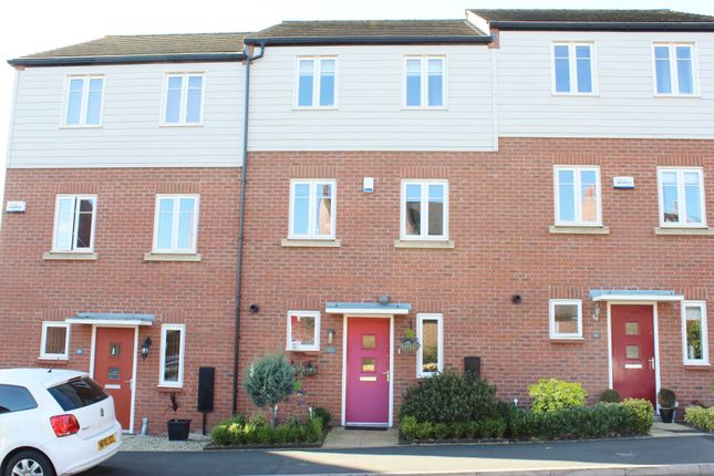 Thumbnail Town house for sale in Horseshoe Crescent, Nether Hall Park, Great Barr
