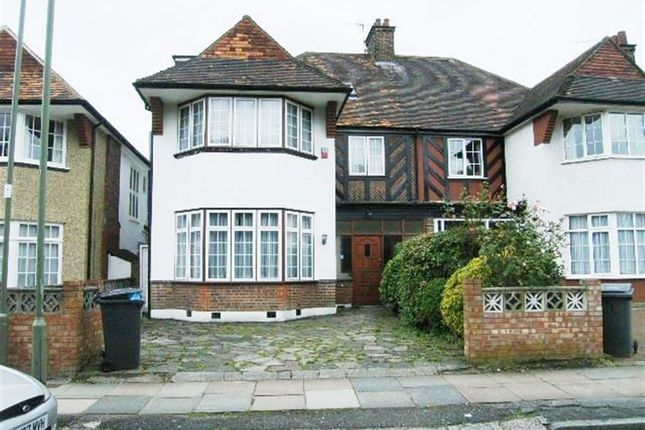 Thumbnail Semi-detached house to rent in Hervey Close, Finchley, London