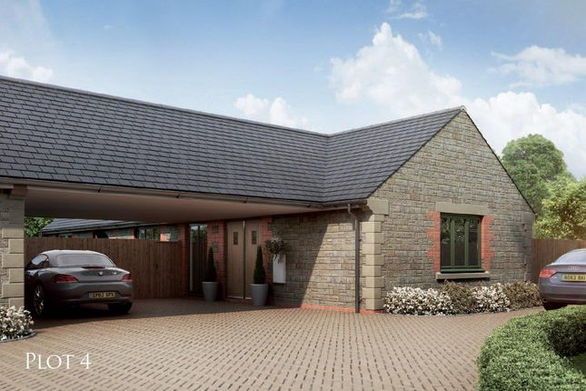 Thumbnail Bungalow for sale in The Courtyard, Main Road, Barleythorpe, Oakham