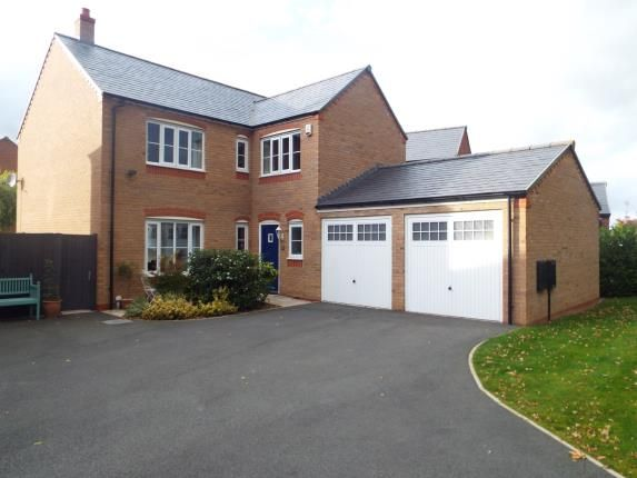 Thumbnail Detached house for sale in Stryd Yr Alarch, Ruthin, Denbighshire, North Wales