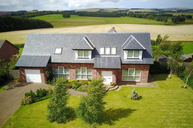 Thumbnail Detached house for sale in The Swallows, Stobswood, Longformacus, Duns