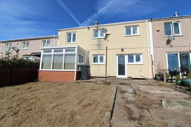 Thumbnail Terraced house for sale in Mount Pleasant Estate, Brynithel, Abertillery
