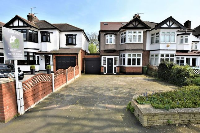 Thumbnail Semi-detached house for sale in Main Road, Gidea Park, Romford