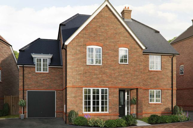 "Thumbnail Detached house for sale in ""The Tiverton"" at Saunders Way, Basingstoke"