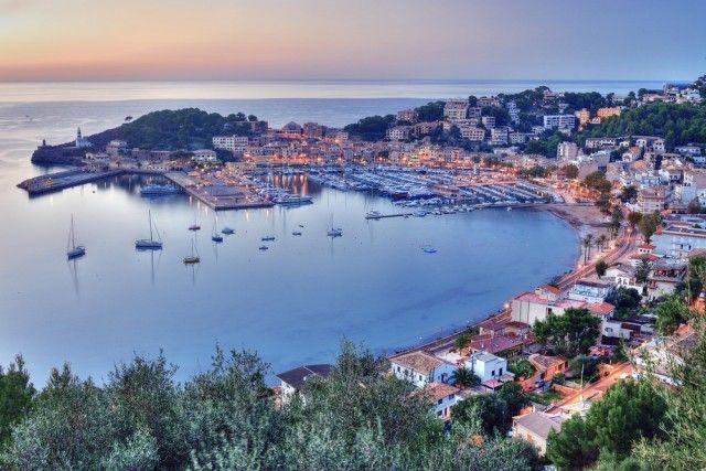 Puerto Soller of Spain, Mallorca, Sóller, Port De Sóller