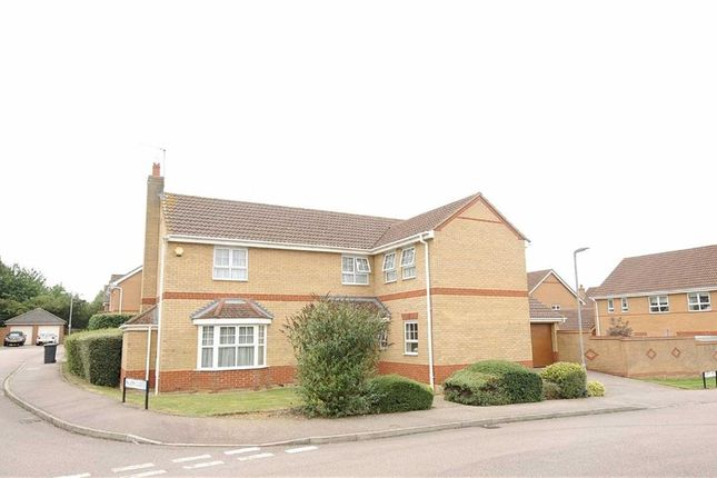 Thumbnail Detached house for sale in Cleeve Way, Wellingborough