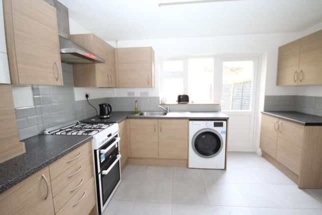 Thumbnail End terrace house to rent in Burrell Close, Edgware, Middlesex
