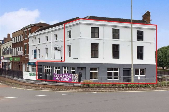 Thumbnail Retail premises for sale in Nelson Place, Newcastle-Under-Lyme, Staffordshire