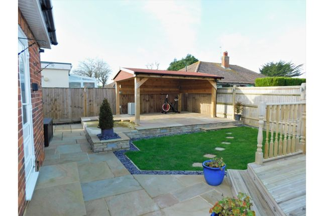 Rear Garden of Middle Onslow Close, Worthing BN12
