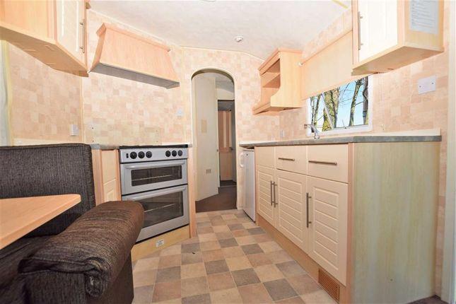 Kitchen of Sunnydale Holiday Park, Saltfleet, Lincolnshire LN11