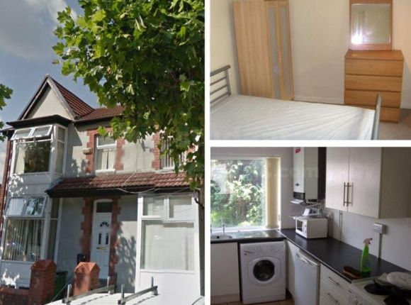Thumbnail Shared accommodation to rent in Broadway, Pontypridd, Rhondda Cynon Taff
