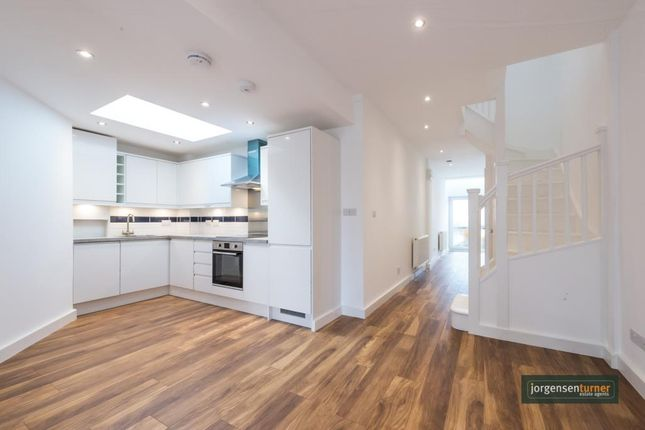 Thumbnail Town house to rent in St Andrews Road, East Acton, London