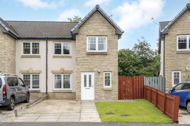 Thumbnail Semi-detached house for sale in 58 Kirkside Crescent, Stirling