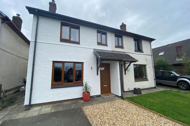 Thumbnail Semi-detached house for sale in Haulfan, Ffosyffin, Aberaeron
