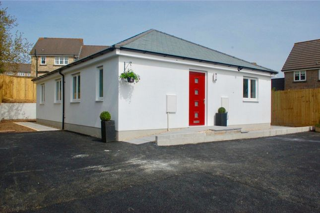 Detached bungalow for sale in Trenowah Road, St Austell, Cornwall