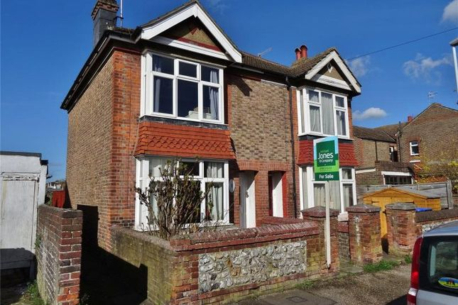 Thumbnail Semi-detached house for sale in Wigmore Road, Broadwater, Worthing
