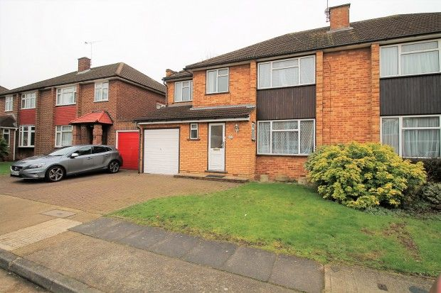 Thumbnail Semi-detached house to rent in Stanley Close, Romford